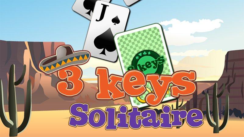 Image 3 Keys Solitaire