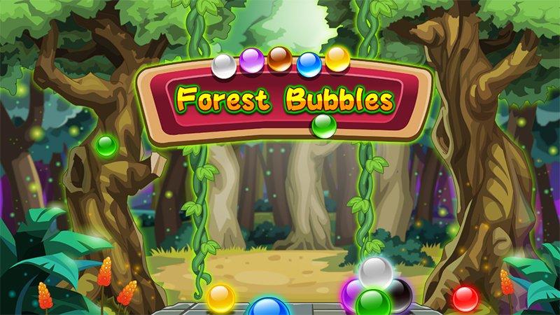Image Forest Bubbles