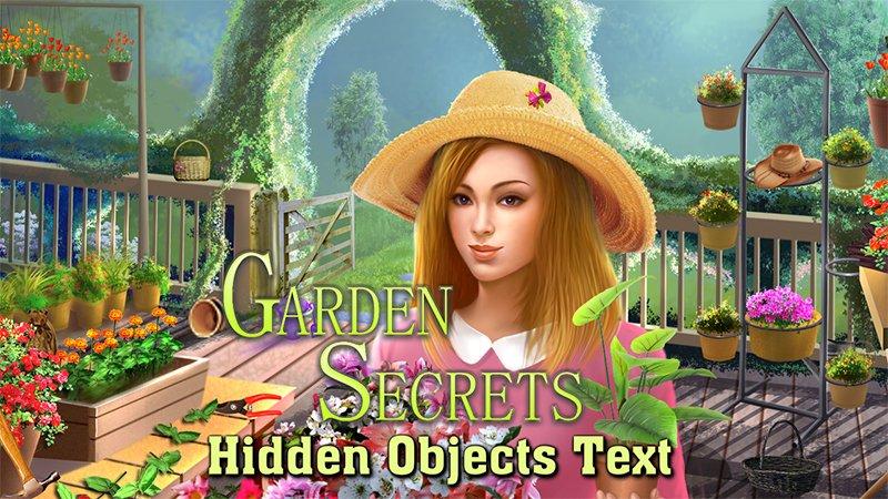 Image Garden Secrets Hidden Objects by Text