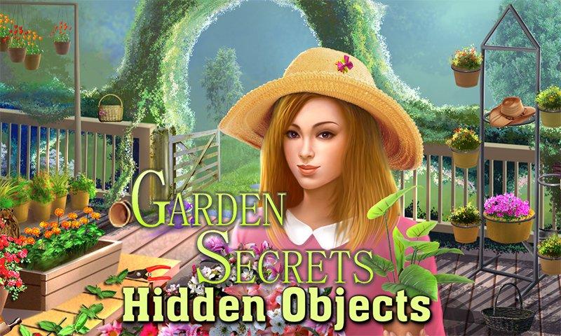 Image Garden Secrets Hidden Objects