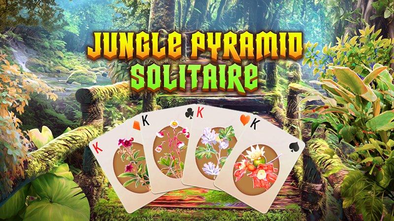 Image Jungle Pyramid Solitaire
