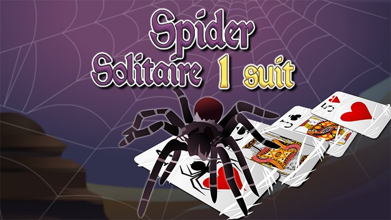 Image Spider Solitaire 1 suit